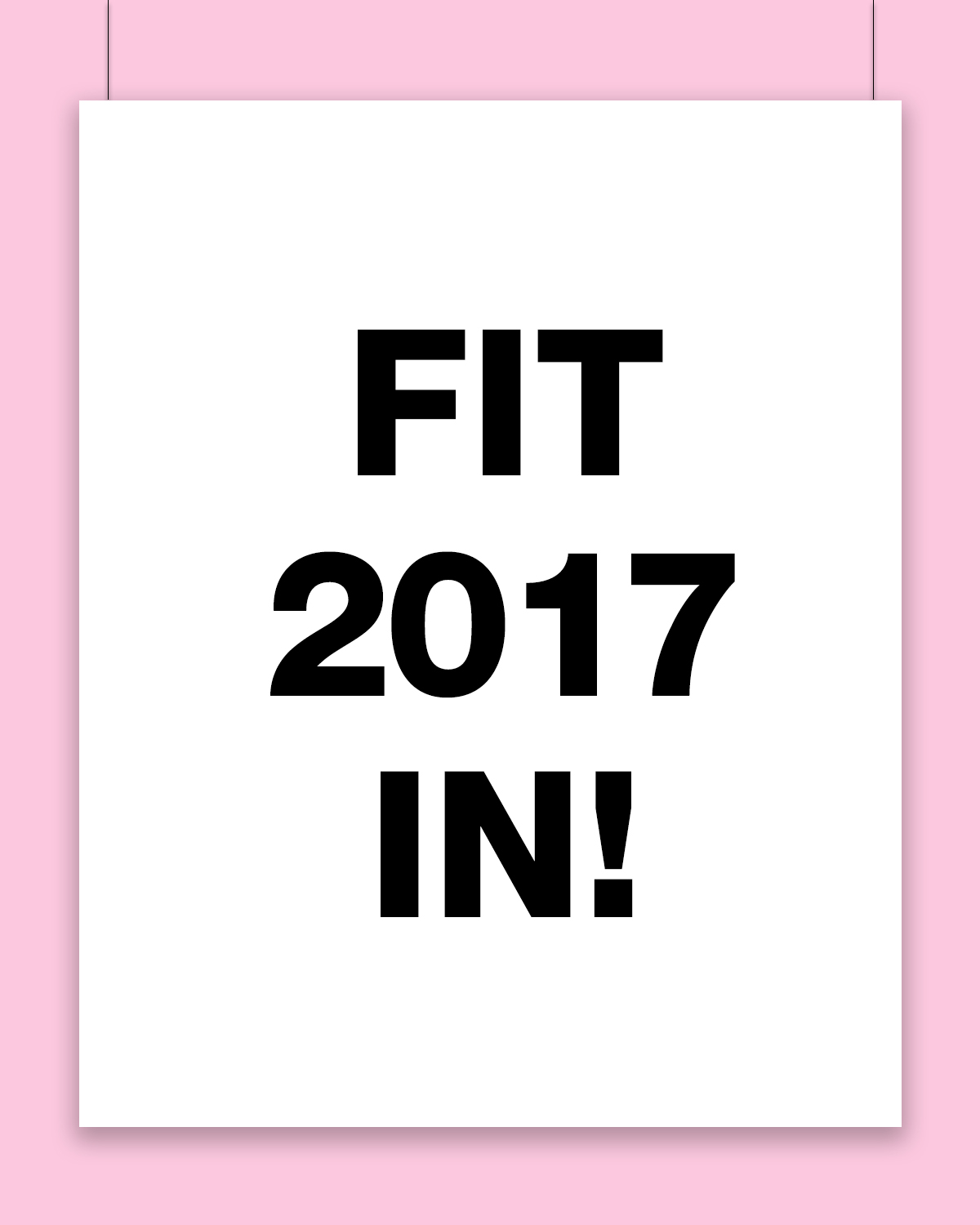 Fit 2017 in!